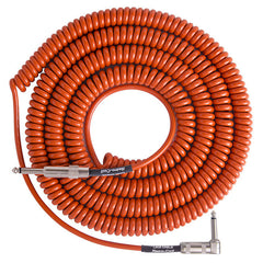 Lava Super Coil Instrument Cable 35' Straight-Right Orange