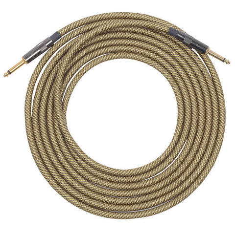 Lava Vintage Tweed Instrument Cable 20' Straight-Straight