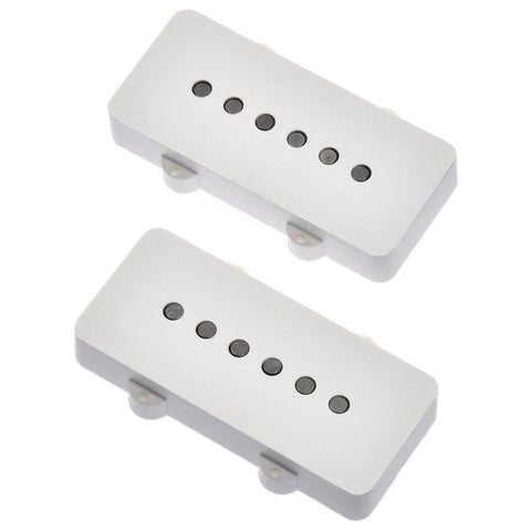 Lindy Fralin Jazzmaster Stock Pickup Set White