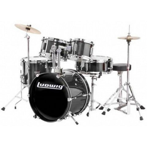 Ludwig Ludwig Junior Outfit Drum Kit Black