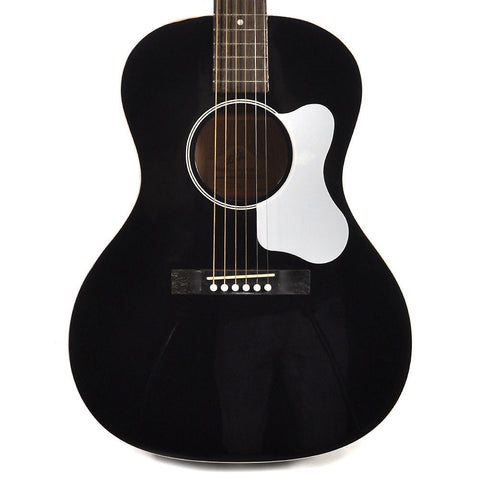 The Loar L-00 Flat Top Black Acoustic Guitar