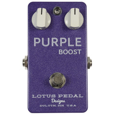 Lotus Pedal Designs Purple Boost