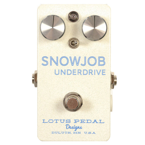 Lotus Pedal Designs SnowJob Underdrive