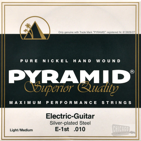 Pyramid Light/Medium Electric Guitar Strings 10-48
