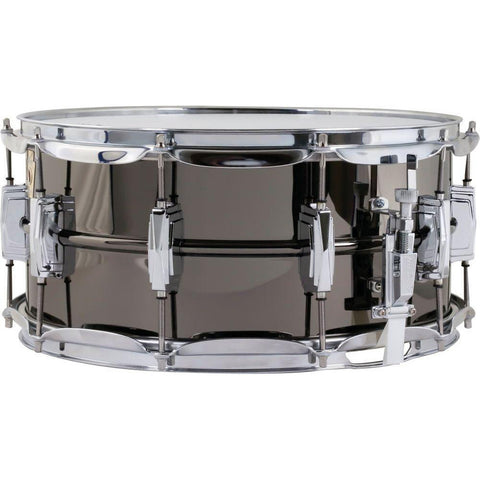 Ludwig Black Beauty 6.5x14 Snare Drum w/ Supra-Phonic Snares