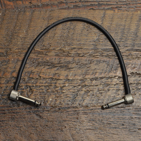 Lava Pre-Made Soldered 1/4 Inch Instrument Cable 12 Inch Angle-Angle