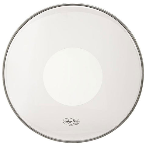 Ludwig 26 Inch Silver Dot Clear Heavy Bass Drum Batter Head