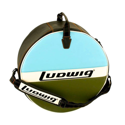 Ludwig 6.5x14 Atlas Classic Snare Drum Bag Blue/Olive