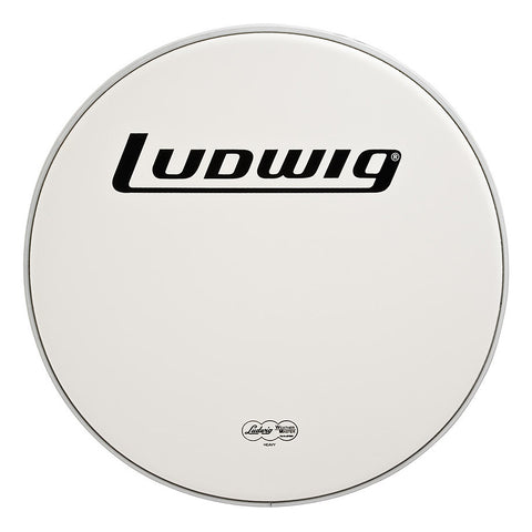 Ludwig 18 Inch Heavy Coated Bass Drum Head w/Logo