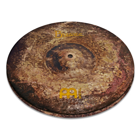Meinl 15 Inch Byzance Vintage Pure Hi-Hat Cymbals Pair
