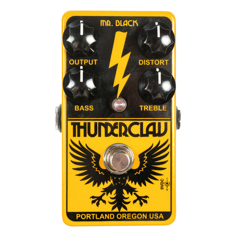 Mr. Black Thunderclaw Hi-Gain Distortion Machine