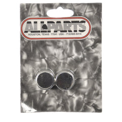 Allparts Barrel Knobs - Nickel