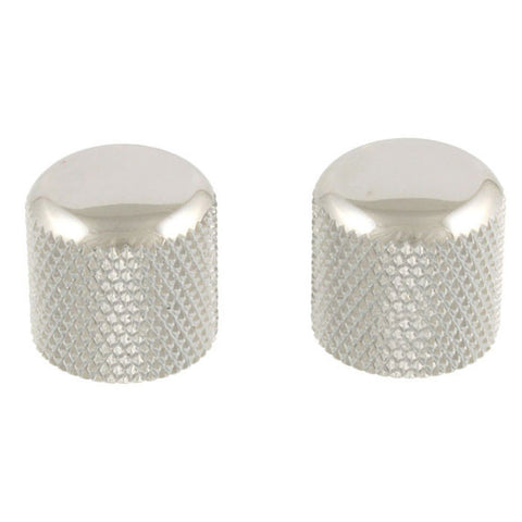 Allparts Dome Knobs Push-On (2) Chrome