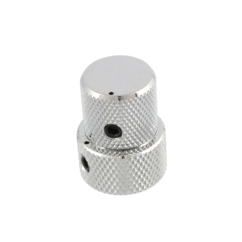 Allparts Concentric Stacked Knobs Chrome fits EMG, Duncan, and Bartolini w/Set Screws