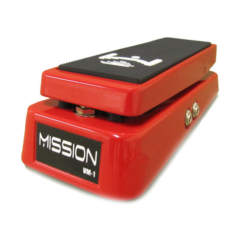Mission Engineering VM-1 Volume Pedal w/ Mute & Tuner Out Red