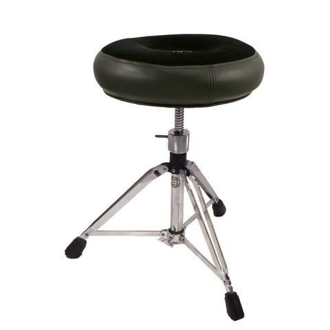 Roc-n-Soc Manual Spindle Round Throne Black