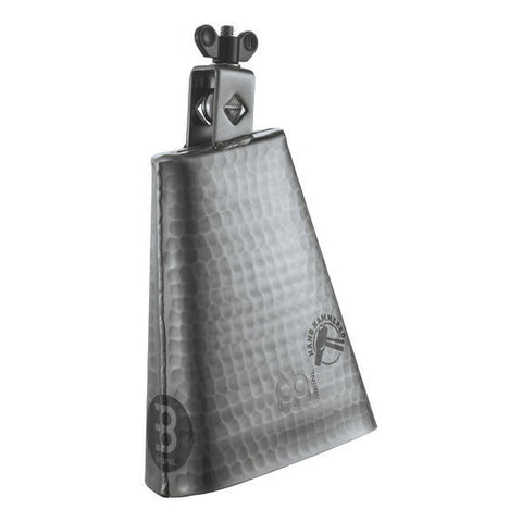 Meinl 6.25 Inch Hand Hammered Cowbell Brushed Steel