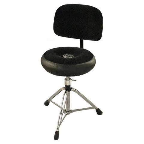 Roc-n-Soc Manual Spindle Round Throne w/Backrest