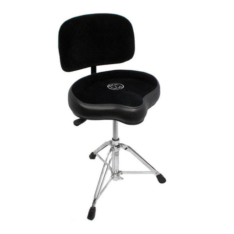 Roc-n-Soc Nitro Throne Original Black w/Backrest, 18-24 Inch