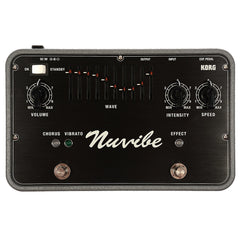 Korg Nuvibe Vibrato Chorus Effector w/Expression Pedal
