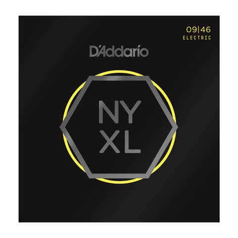 D'Addario NYXL Electric Guitar Strings Super Light Top/Regular Bottom 9-46
