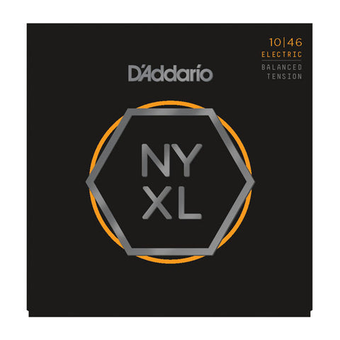 D'Addario NYXL Electric Guitar Strings Balanced Lite 10-46