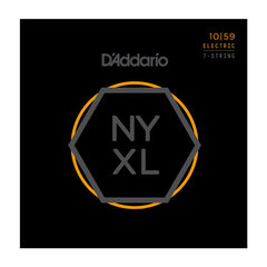 D'Addario NYXL Electric Guitar Strings Lite 7 String 10-59