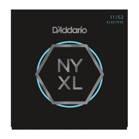 D'Addario NYXL Electric Guitar Strings Medium/Heavy 11-52