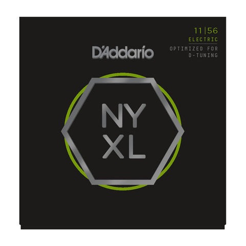 D'Addario NYXL Electric Guitar Strings Medium/Extra Heavy 11-56