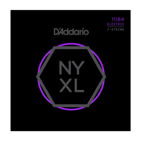 D'Addario NYXL Electric Guitar Medium 7 String