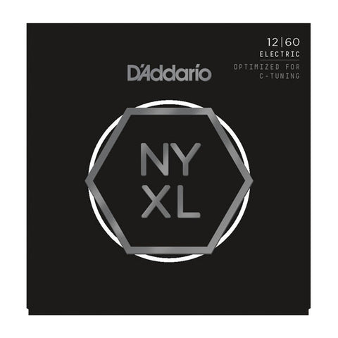 D'Addario NYXL Electric Guitar Strings Extra Heavy 12-60