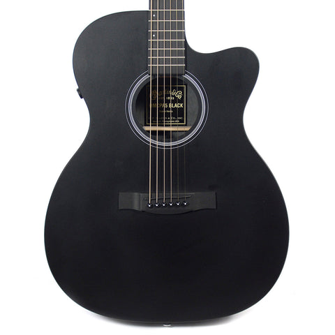 Martin OMCPA5 Acoustic/Electric Black
