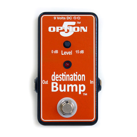 Option 5 Destination Bump Boost & Buffer