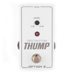 Option 5 Destination Thump Bass Boost