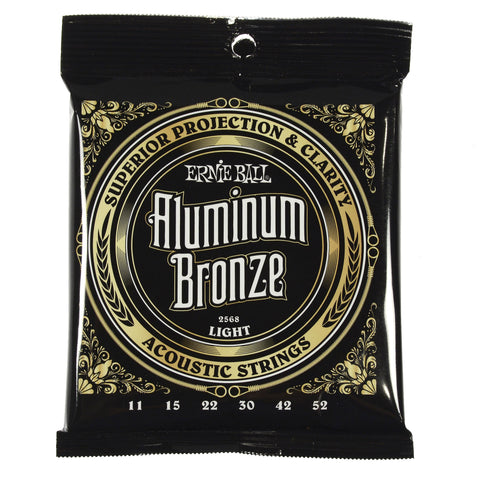 Ernie Ball 2568 Aluminum Bronze Light 11-52