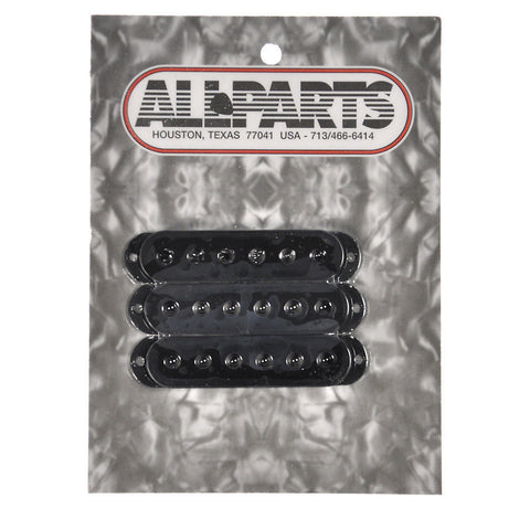 Allparts Pickup Covers for Stratocaster - Black