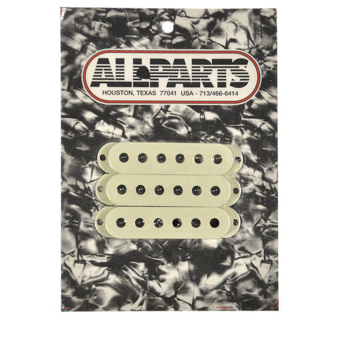 Allparts Pickup Covers for Stratocaster - Mint Green