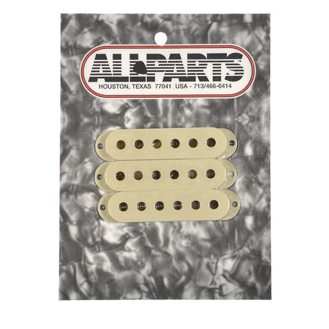 Allparts Pickup Covers for Stratocaster - Vintage Cream