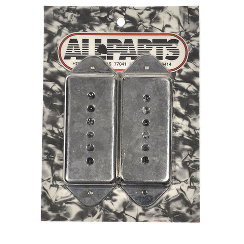 Allparts Pickup Covers for P-90 - Nickel