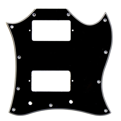Allparts Pickguard for Gibson® SG® Large 3-Ply Black