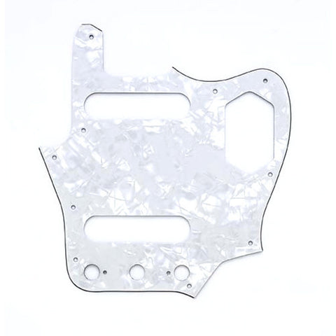 Allparts Pickguard for Jaguar 3-Ply White Pearloid