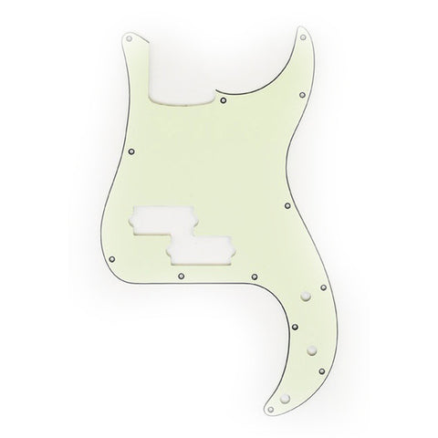 Allparts P-Bass Pickguard 3-Ply - Mint Green