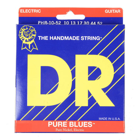 DR Strings Pure Blues Electric Strings Big & Heavy 10-52