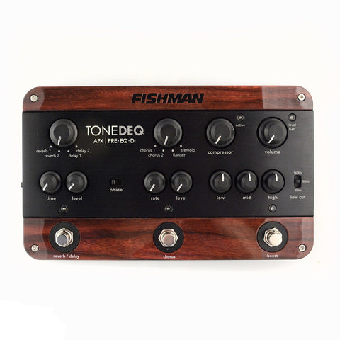 Fishman ToneDeq AFX Preamp, EQ and DI with Dual Effects
