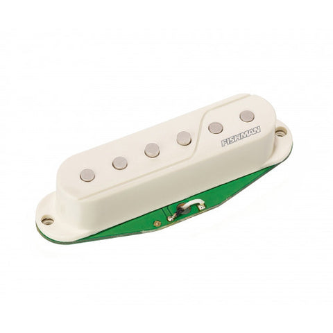 Fishman Fluence Strat Pickups Set w/ Preamp - White