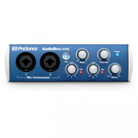 Presonus AudioBox 22VSL Advanced 2x2 USB 2.0 Recording Interface