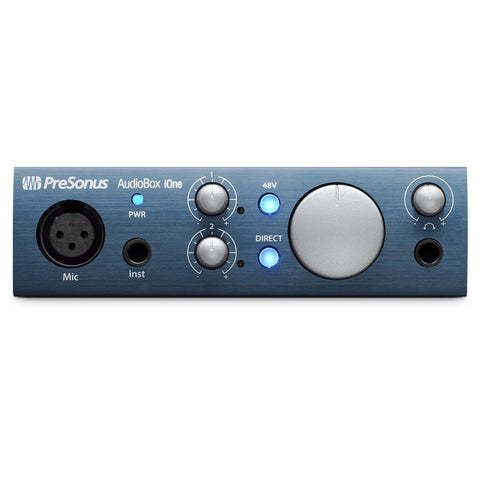 Presonus AudioBox iOne Recording Interface