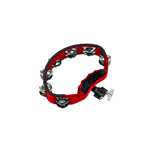 Gon Bops Tambourine w/Quick-Release Mount Red