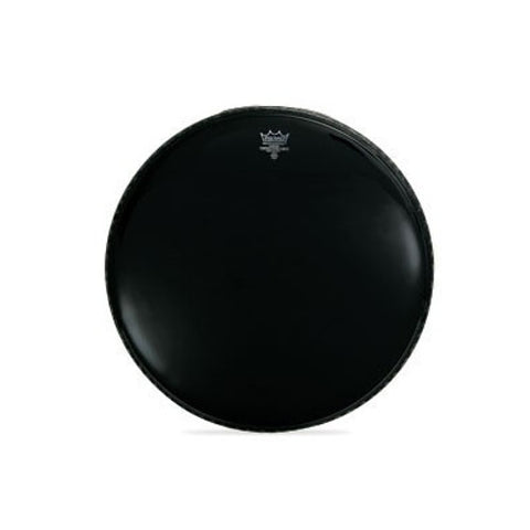 Remo 24 Inch Bass Powerstroke 3 Ebony Drum Head