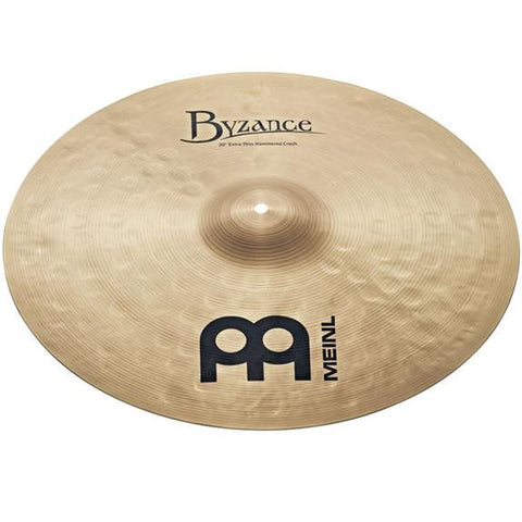 Meinl Byzance 20 Inch Extra Thin Hammered Crash Cymbal